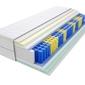 Materac kieszeniowy tuluza max plus 145x155 cm średnio twardy lateks visco memory