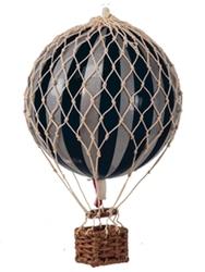 Authentic models balon royal aero, srebrno- czarny ap163sk