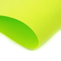 Pianka foamiran 35x30 cm - limonkowa zieleń - lim