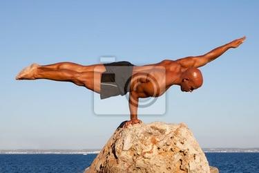 Obraz równowagi mocarza