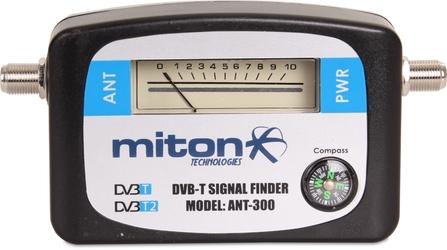 MIERNIK DVB-T  DVB-T2 MITON ANT-300 - Szybka dostawa lub możliwość odbioru w 39 miastach