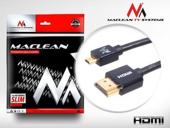 Maclean przewód hdmi-microhdmi slim 1m mctv-721