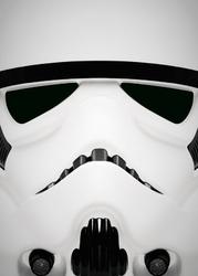 Face it star wars gwiezdne wojny - stormtrooper - plakat wymiar do wyboru: 40x50 cm