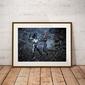 Proxima midnight  vs black widow - plakat wymiar do wyboru: 59,4x42 cm
