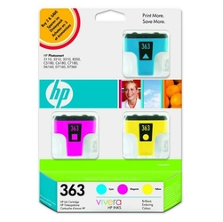 HP oryginalny ink CB333EE, No.363, cyanmagentayellow, 3szt, HP Designjet Z3100