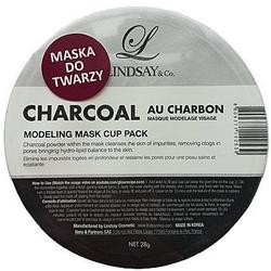 Linsday charcoal, maska oczyszczająca z węglem do twarzy 28g