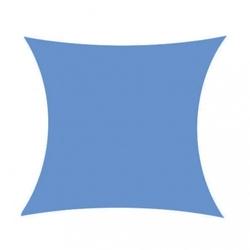 Żagiel przeciwsłoneczny daszek zacieniacz 5x5 m ciemny niebieski