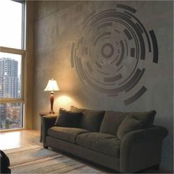 abstrakcja 789 szablon malarski