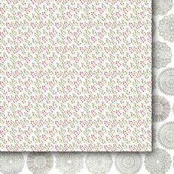 Świąteczny papier Wigilijne Drzewko 30,5x30,5cm 04 - 04