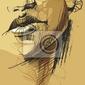 Obraz vector_03 twarz