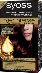 Syoss Oleo, Farba do włosów, 4-23 Burgund