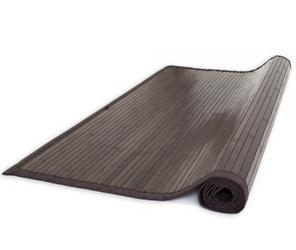Mata bambusowa, dywanik bambusowy 245 x 345 cm, ciemnobrązowy