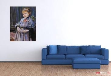 portret dziewczynki - stanisław wyspiański ; obraz - reprodukcja