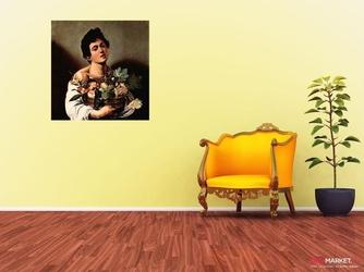 chłopiec z koszem owoców - caravaggio ; obraz - reprodukcja