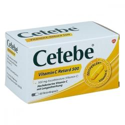 Cetebe vitamin c  500 mg kapsułki o przedłużonym uwalnianiu