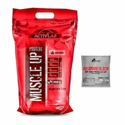 ACTIVLAB Muscle Up Protein - 2000g + Losowa Próbka - Strawberry