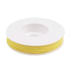 Sznurek do sutaszu - 10 m - żółty - ŻÓŁ