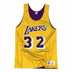 Koszulka Mitchell  Ness NBA LA Lakers NBA Reversible Mesh Tank Earvin Johnson - NNRMDA18007-LALLGPR1EJH84 - Earvin Johnson