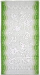 Ręcznik flora ocean greno zielony - zielony