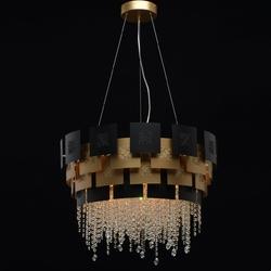 Lampa wisząca designerska carmen chiaro crystal 394010608