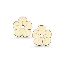 kolczyki kwiatuszki złoto 585
