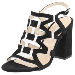 Czarne sandały vogue carla cozabuty