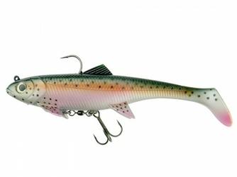 Guma do trollingu DAM Effzett Pike Seducer Trolling 23cm 150g Rainbow Trout