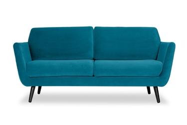 Sofa aster welur bawełna 100 turkusowy