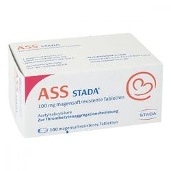 Ass stada 100 mg tabletki powlekane