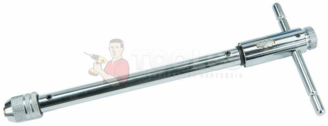 Uchwyt sztorcowy do gwintownika z grzechotką m5-m12 290mm