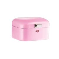 Wesco - pojemnik na pieczywo mini grandy - różowy - różowy