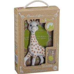 Żyrafa Sophie w kartoniku, z torebką na prezent