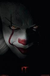 Stephen King It Pennywise - plakat z filmu