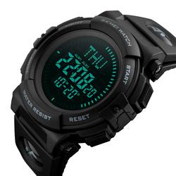 Zegarek MĘSKI SKMEI 1290 KOMPAS DATOWNIK czarny