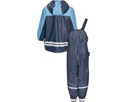Komplet przeciwdeszczowy, spodnie i kurtka, granatowy, playshoes
