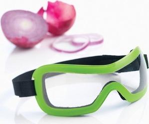 Okulary do krojenia cebuli zielone