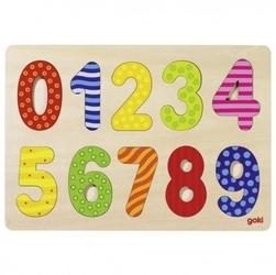 Puzzle z cyferkami 0-9