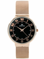 Damski zegarek bransoleta JORDAN KERR - MIRACLE zj835c - antyalergiczny