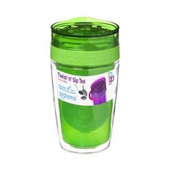 Kubek zielony Twist 'n' Sip Tea To Go Sistema