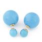 Kolczyki fancy blue - BLUE