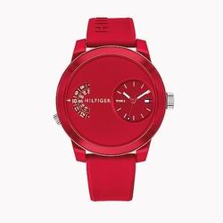 Zegarek Męski Tommy Hilfiger Denim - 1791557 - czerwony