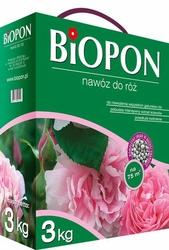 Biopon, nawóz granulowany do róż, 3kg