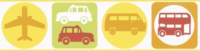 Pasek dekoracyjny pojazdy auta border 8957-21