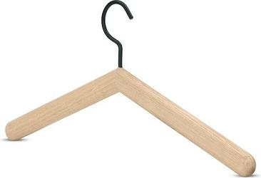Wieszak na ubrania georg naturalne drewno