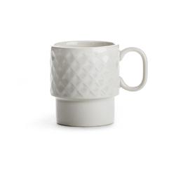 Filiżanka ceramiczna z uchem biała Coffee Sagaform