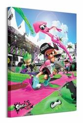Splatoon 2 Game Cover - obraz na płótnie