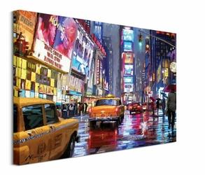 Times Square - obraz na płótnie