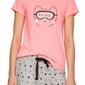 Atlantic nlp-462 różowa piżama damska