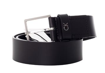Pasek calvin klein formal belt 3.5cm - k50k504300 001