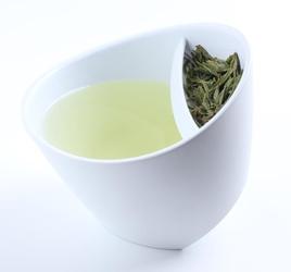 Kubek-zaparzacz do herbaty biały Magisso